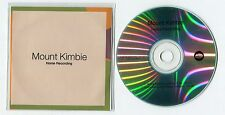 Mount Kimbie - cd-PROMO - HOME RECORDING © 2013 UK-2-track-CD - Electronic House