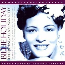 Billie Holiday Everything A Good Man Needs (CD 2004) New and Sealed