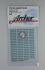 Archer (170mm - 1/8) Human Eyeball Decals No.2 (5 Colors) (200 Figures) AR99002