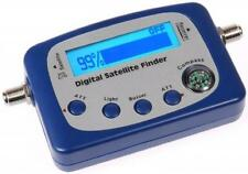 DIGITAL SATELLITE SIGNAL METER FINDER COMPASS, BUZZER FTA DISH NETWORK BELL SHAW