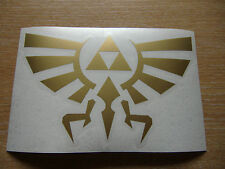 Legend of Zelda - Triforce - cut vinyl decal - 150mm x 100mm