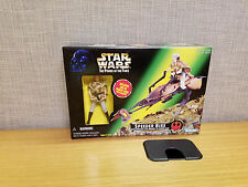 Kenner Star Wars Power of the Force Speeder Bike with Princess Leia, New!