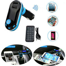 Bluetooth Phone Call FM Transmitter MP3 Player Car Kit Charger for iPhone6 5S 5C