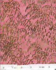 Rose Willow Batik Quilt Fabric - Free Shipping - 1 Yard