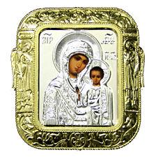 Icone religieuse La Vierge de Kazan, Icone LA VIERGE, Icone chrétienne russe