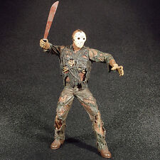 "Cult Classics Friday The 13th Part VII 7 JASON VOORHEES 8"" Figure NECA 2005"
