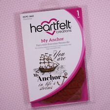 Heartfelt Creations Cling Rubber Stamp Set ~ My Anchor, HCPC3662 ~ NIP