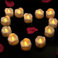 Yellow Flicker Electric Candles Flameless Tea Lights Party Wedding Decoration