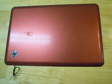HP dv5-2077cl Red Lid - LCD Back Cover w/WiFi Antenna & Webcam #151-36