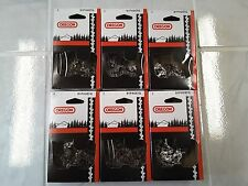 """6  91PX057G Oregon 16"""" chainsaw chains 3/8 LP .050 57 DL same as 91PX57CQ"""