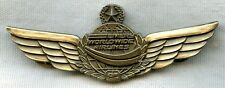 1993 Emery Worldwide Airlines Captain Wing 3rd Issue (with Maker Mark)