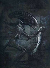 Aliens Earth War Signed Limited Artist Proof John Bolton Lithograph from 1991