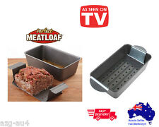 Non-stick Meat Loaf Meatloaf Tin Kitchen Pastry Bread Cake Baking Pan Bakeware