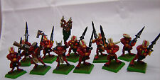 Warhammer Chaos Khorne Bloodletters army lot metal OOP well painted table ready