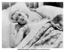 CONSTANCE BENNETT in bed still from BOUGHT - (a873)