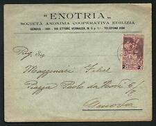 Italia Regno - 1913 -  Cinquantenario Unità d'Italia : C. 2 su 10 su busta