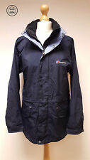 Womens Berghaus Blue Gore-Tex GTX Waterproof Walking Hiking Jacket, UK 10