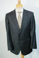 40 REG MENS GREY GIEVES & HAWKES SAVILE ROW SINGLE BREASTED SUIT JACKET