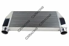 "CXRacing 30x13x3 V-Mount Intercooler 3"" Inlet&Outlet One Side For Mazda RX7"