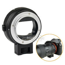 New Black Electronic Auto Focus Adapter Canon EOS EF-S Lens to Sony NEX A6000 A7