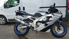 Kawasaki ZX6R 98-02 G-A1P Stainless round Road Legal/Race MTC Exhaust