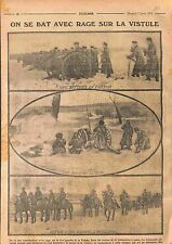 Poland Battle of the Vistula River Deutsches Heer Imperial Russian Army WWI 1915