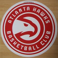 Window Bumper Sticker NBA Basketball Atlanta Hawks NEW