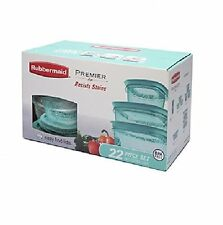 Rubbermaid Premier 22-piece Food Saver Storage Container Set - Lid Colors Vary