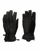 QUIKSILVER Men's METRO Snow Gloves - BLK - Small - NWT