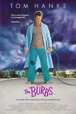 """""""THE 'BURBS"""" Movie Poster [Licensed-NEW-USA] 27x40"""" Theater Size (Tom Hanks)"""