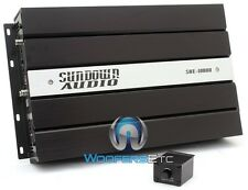 SUNDOWN AUDIO SAE-1000Dv2 MONOBLOCK 1000W RMS DIGITAL CLASSD SUBWOOFER AMPLIFIER