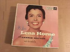 Lena Horne with Lennie Hayton and His Orchestra - It's Love - record