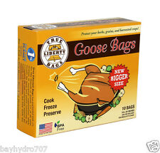 "SALE !!!! True Liberty Goose Bags, Pack OF 25 18"" X 24"" SAVE $$ WITH BAY HYDRO"