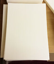1000 A4 CREAM / IVORY SHEETS PLAIN Thick Craft Card 250gsm Card Stock