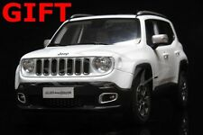 Car Model All New Jeep Renegade Limited 1:18 (White) + SMALL GIFT!!!!!!!!!