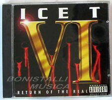 ICE T - RETURN OF THE REAL - CD Nuovo Unplayed