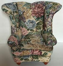 "18"" Doll Arm Chair Floral Print - Fits American Girl"