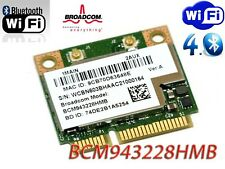 Broadcom BCM943228HMB WiFi a/b/g/n Dual Band +Bluetooth 4.0 Half Mini PCIe Card