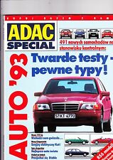 ADAC Catalogue of all 1993 cars - POLISH text - mint condition