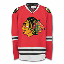 Chicago Blackhawks Authentic Reebok Edge Jersey Official w/ Fight Strip