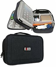 BUBM Double Layers Travel Gadget Organiser Case, Electronics Accessories Bag,
