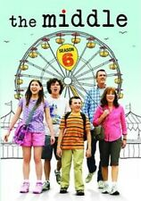 THE MIDDLE: THE COMPLETE SIXTH SEASON 6  (3 disc) -  Region Free DVD - Sealed