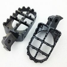 Motocross MX Black Foot Pegs - CRF50F, CRF100F, XR70R, XCRF100F, KLR650 and More