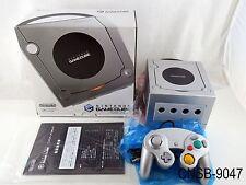 Japanese Boxed Nintendo Gamecube Platinum Console Silver System Japan Import CIB