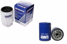 2001-2015 Duramax Diesel AC Delco Oil & Fuel Filter Combo GM New Both In Package