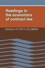 Readings in the Economics Contract Law