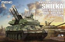 Meng Model 1/35 TS-023 Russian ZSU-23-4 Shilka w/workable Track TS023
