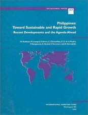 Philippines: Toward Sustainable and Rapid Growth : Recent Developemnts-ExLibrary