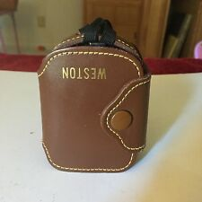 WESTON Exposure Light Meter Model 853 With Leather Case