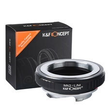 M42 Screw Lens Adapter to Leica Voigtlander M9 M6 M7 M8 adapter high percision
